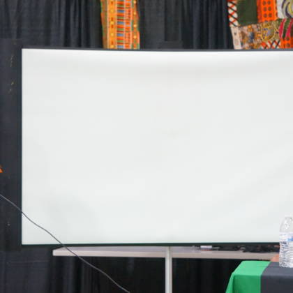 Dr. Mawiyah Kambon speaking at a conference in Baltimore